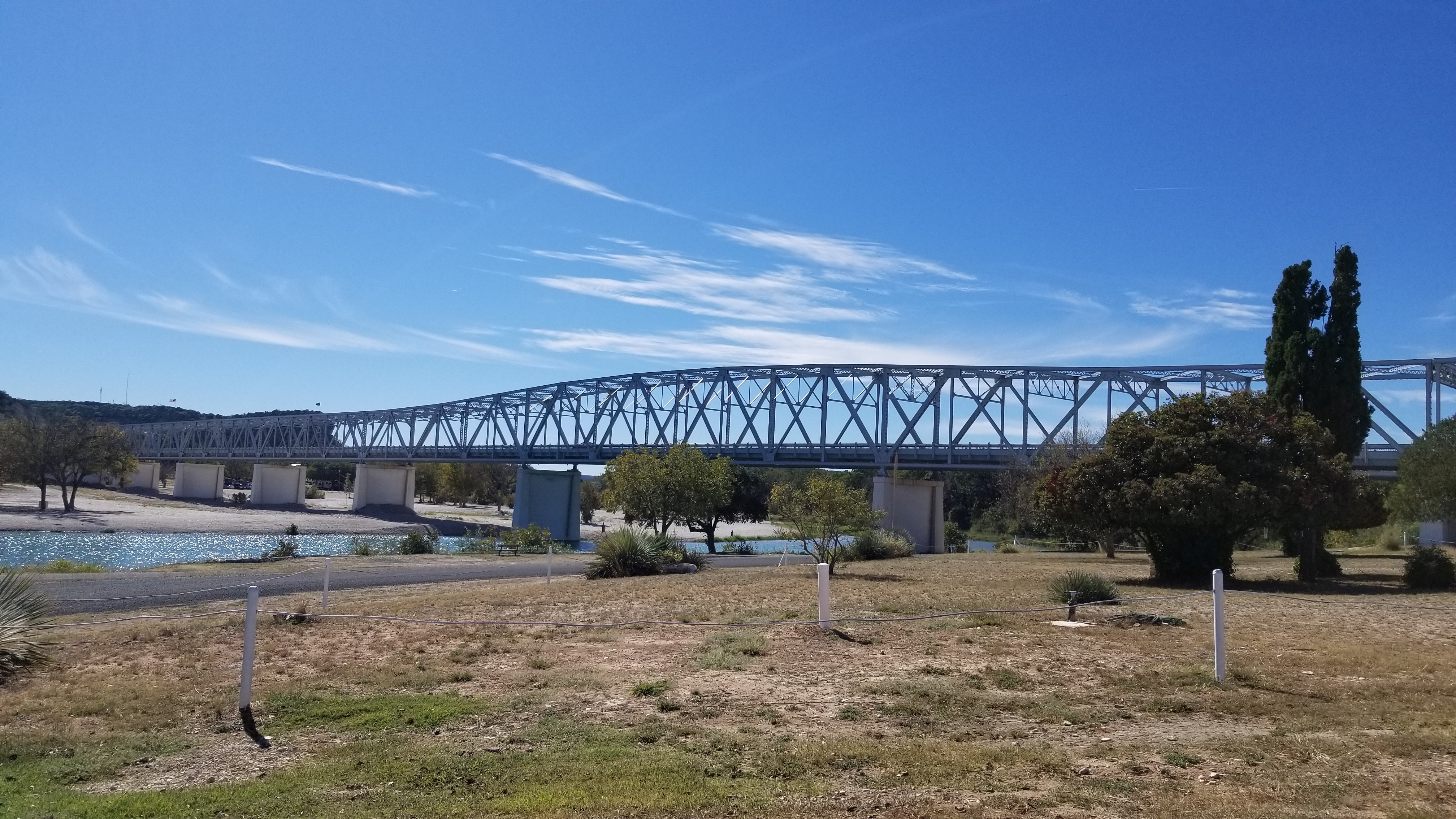 The Bridge of the South Llano River