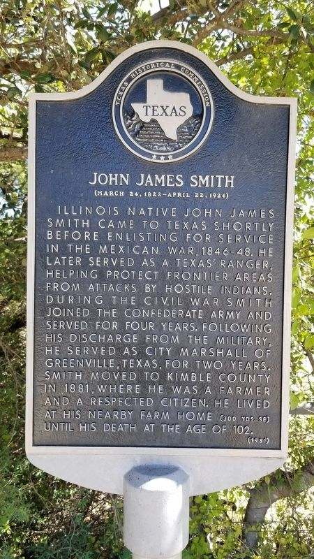 John James Smith Marker image. Click for full size.