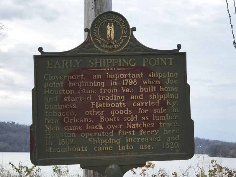 Early Shipping Point Marker image. Click for full size.