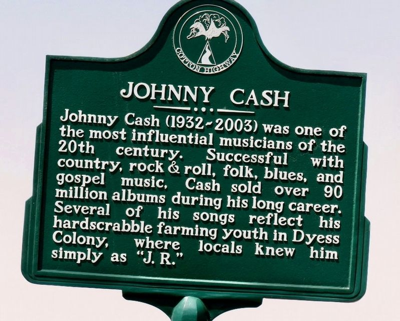 Johnny Cash Marker image. Click for full size.