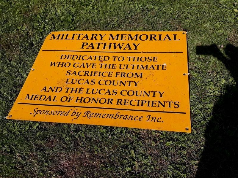 Military Memorial Pathway image. Click for full size.