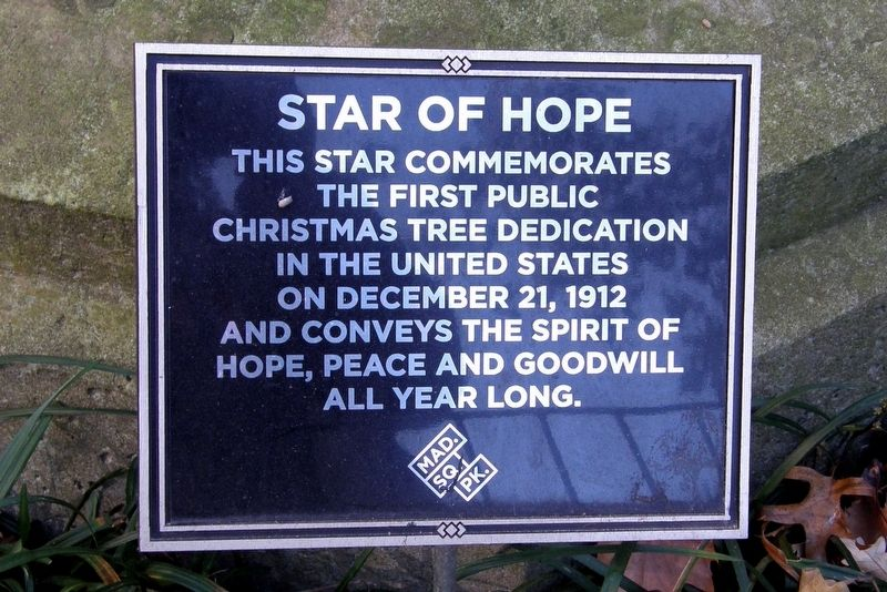 Star of Hope Marker image. Click for full size.