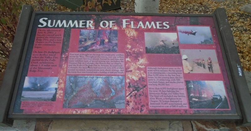 Summer of Flames Marker image. Click for full size.