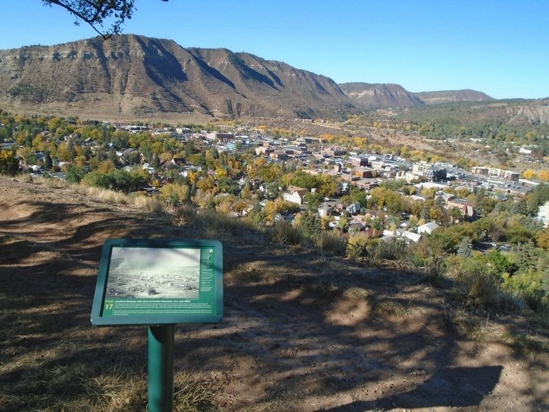 Southern Durango with views of Smelter Mountain Marker image. Click for full size.