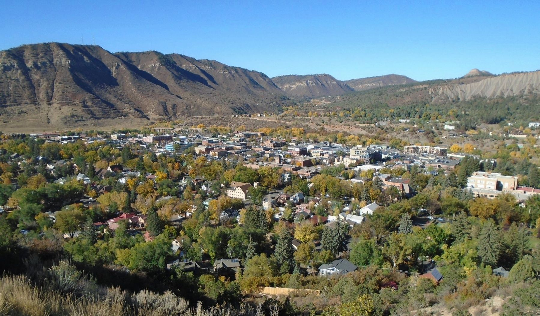 Southern Durango with view of Smelter Mountain image. Click for full size.