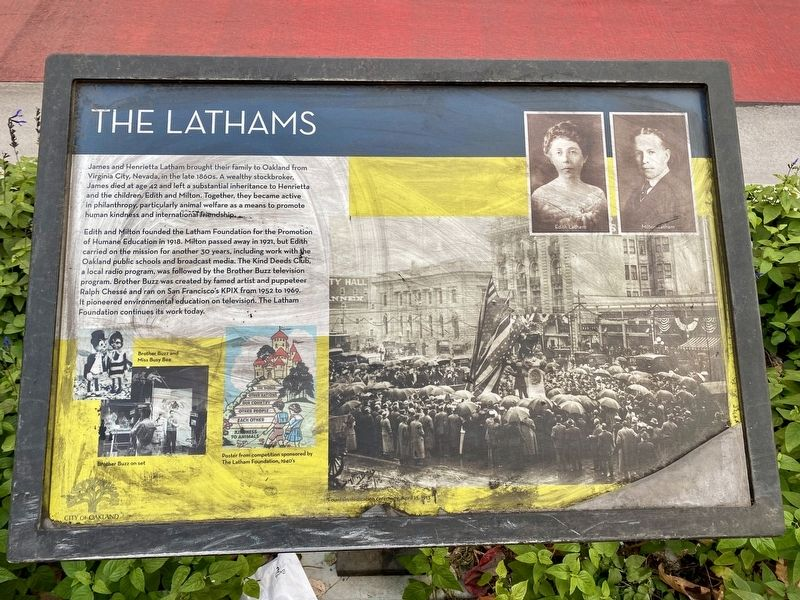 The Lathams Marker image. Click for full size.