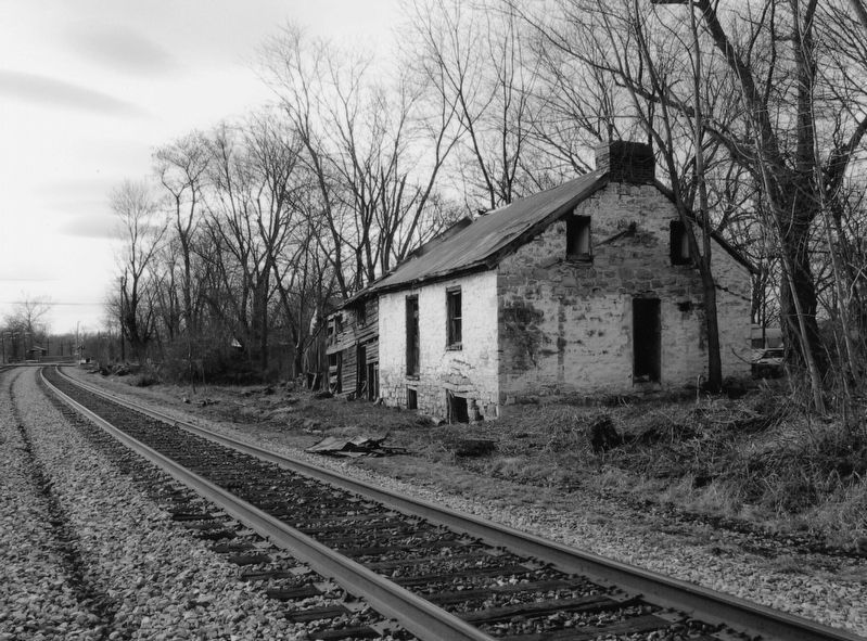 Trackside View of Duffields Depot in 2007 image. Click for full size.