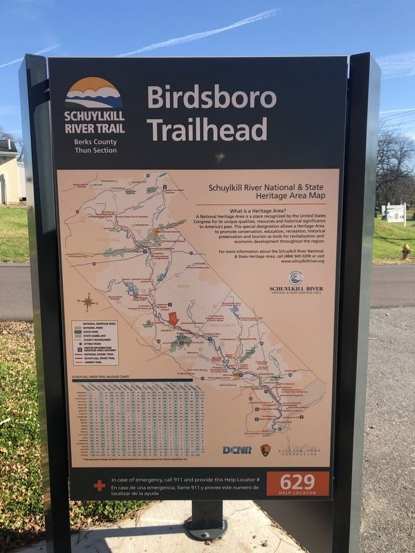 Birdsboro Trailhead Marker image. Click for full size.