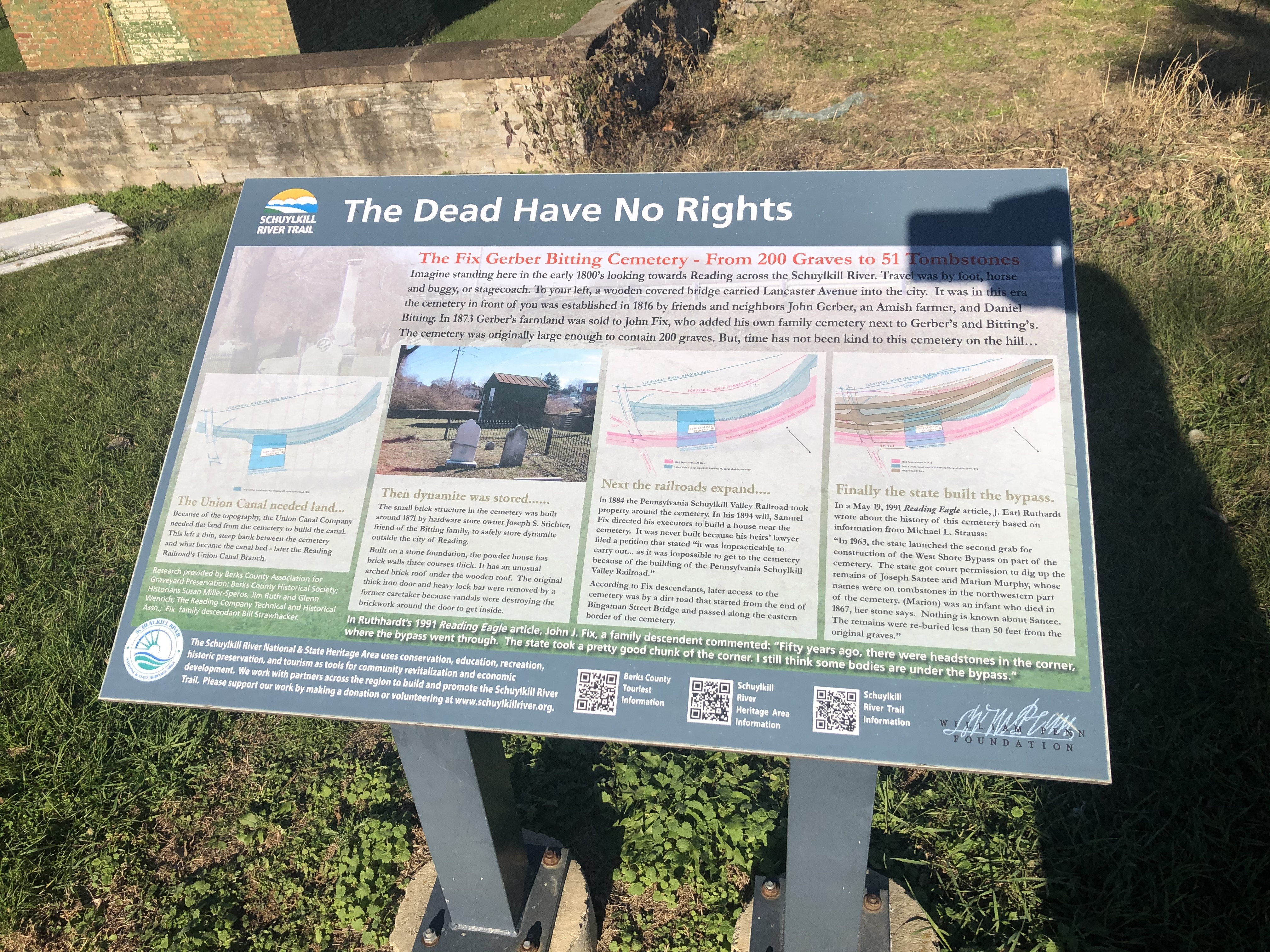 The Dead Have No Rights Marker