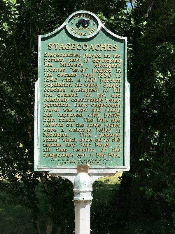 Stagecoaches Marker image. Click for full size.