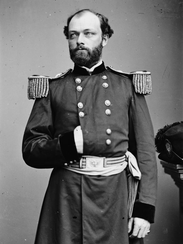 Capt. Quincy A. Gillmore<br>Maj. Gen. from July 10, 1863 image. Click for full size.