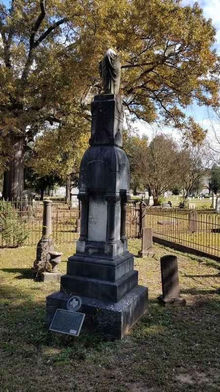 Martha Adams Runnels Marker and tombstone image. Click for full size.