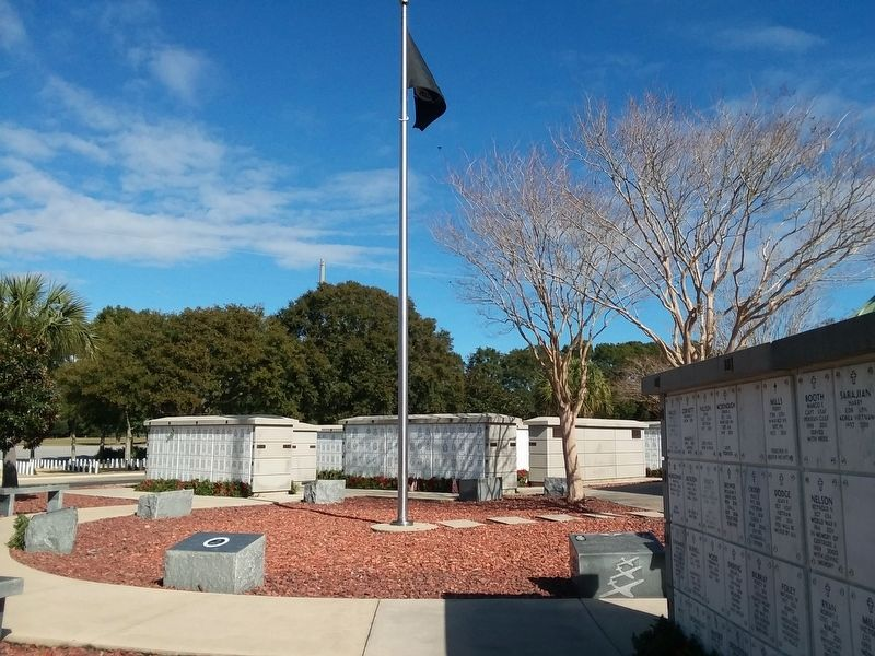 Navy Seabees Veterans Memorial image. Click for full size.