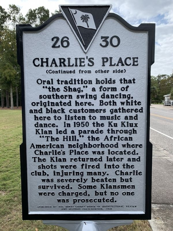 Charlie's Place Marker image. Click for full size.