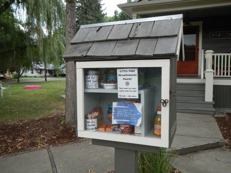 Something other than a little library. image. Click for full size.