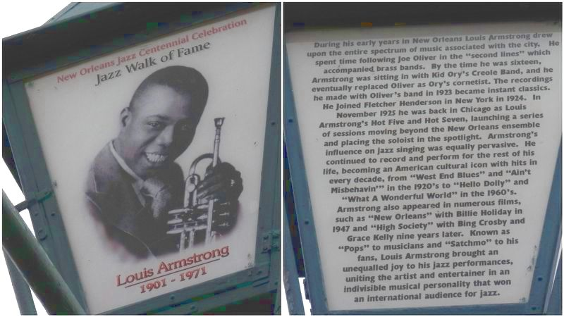 Louis Armstrong Marker image. Click for full size.