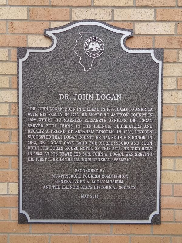 Dr. John Logan Marker image. Click for full size.