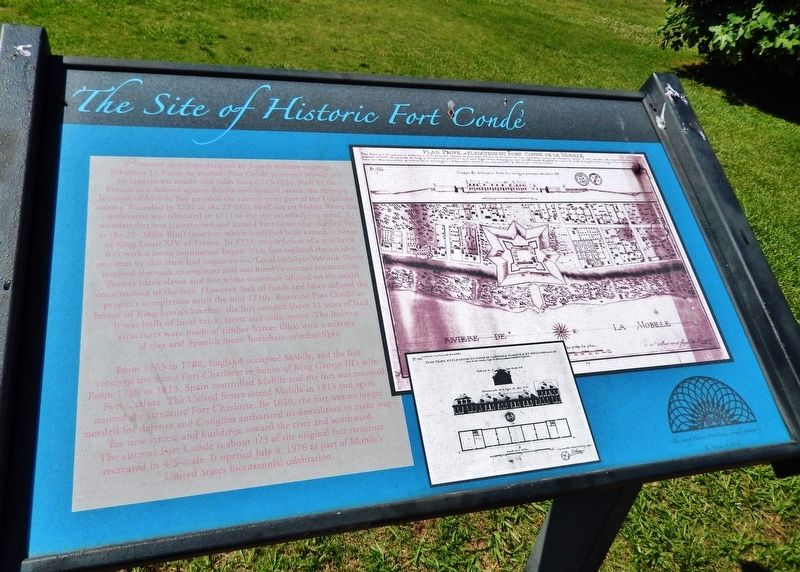 The Site of Historic Fort Condé Marker image. Click for full size.