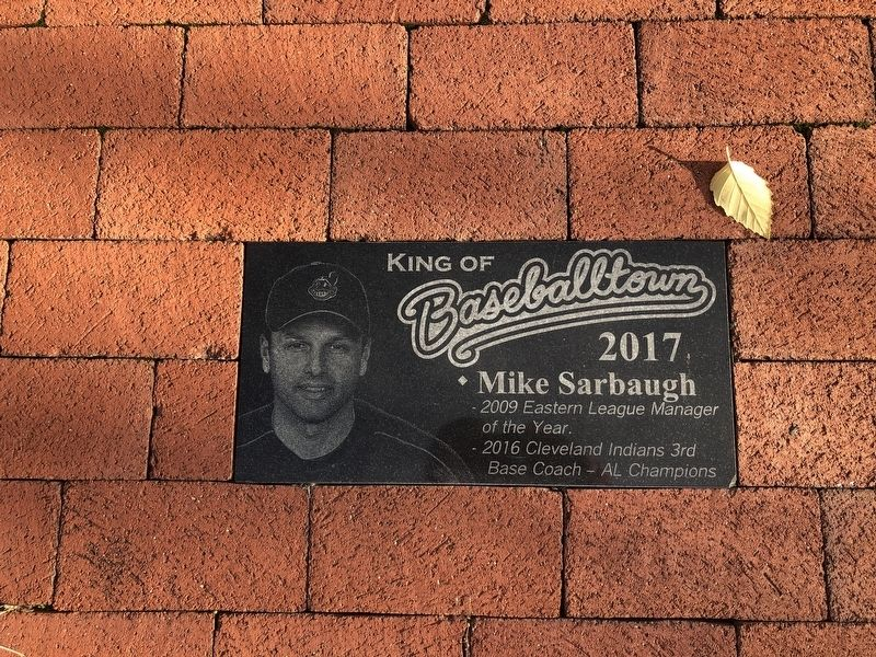 Mike Sarbaugh Marker image. Click for full size.