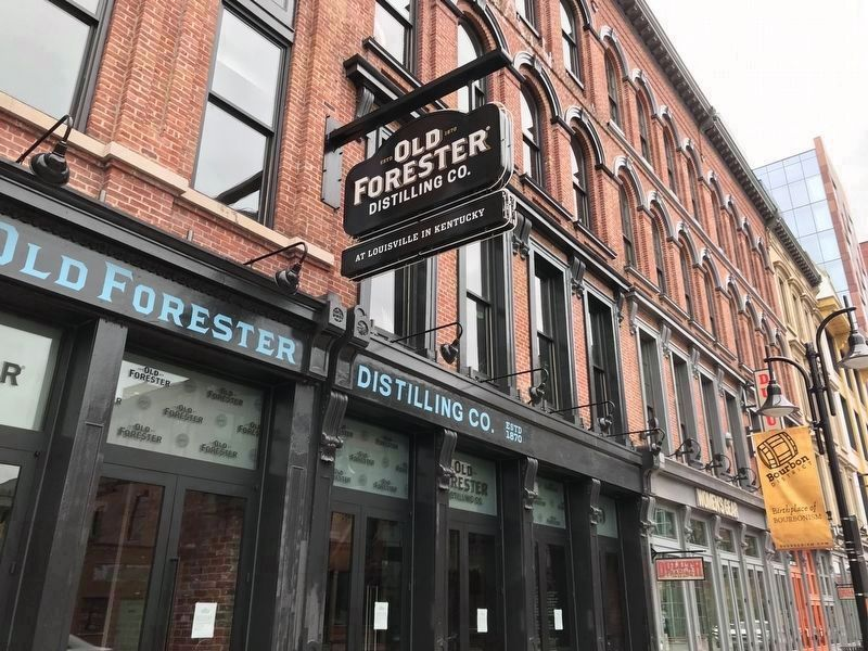 Old Forester Distilling Co., 119 West Main Street image. Click for full size.