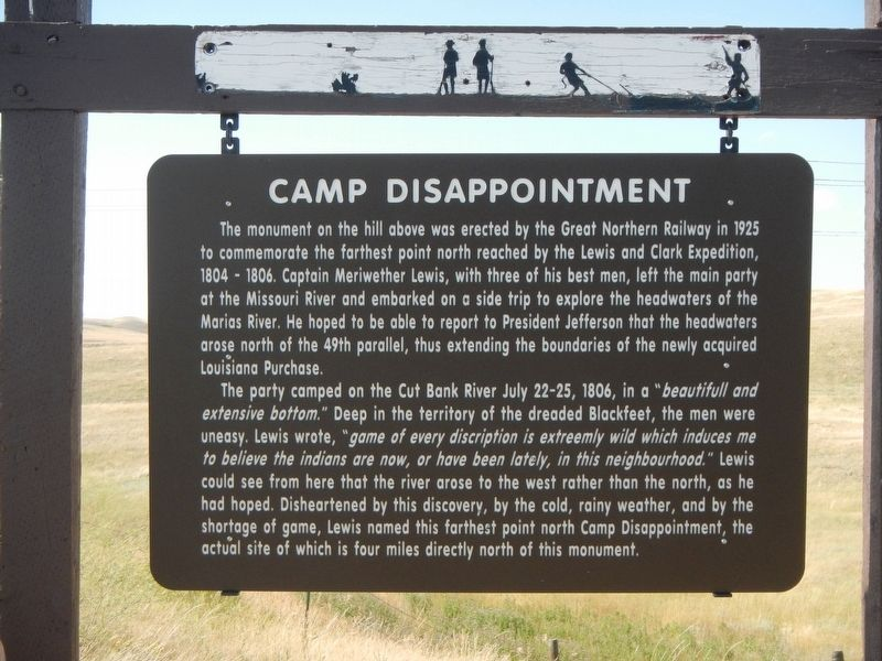 Camp Disappointment Marker image. Click for full size.
