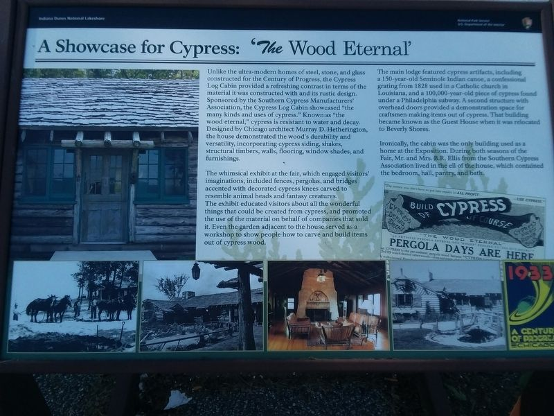 A Showcase For Cypress Marker image. Click for full size.