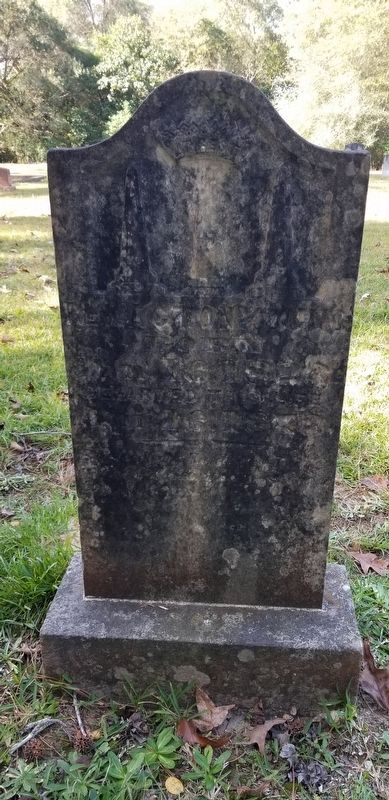 The Rev. Acton Young Gravestone image. Click for full size.