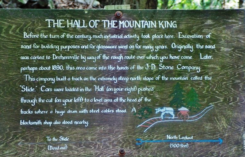 The Hall of the Mountain King Marker image. Click for full size.