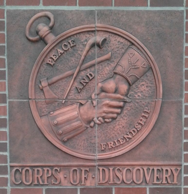 """Corps Of Discovery"" Marker image. Click for full size."