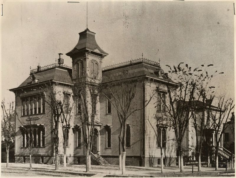 First Sacramento High School image. Click for full size.