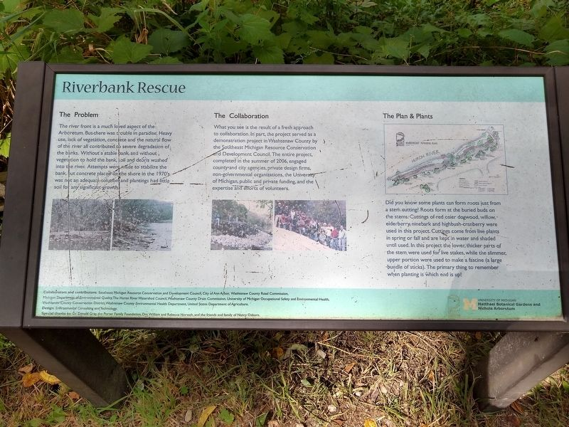 Riverbank Rescue Marker image. Click for full size.