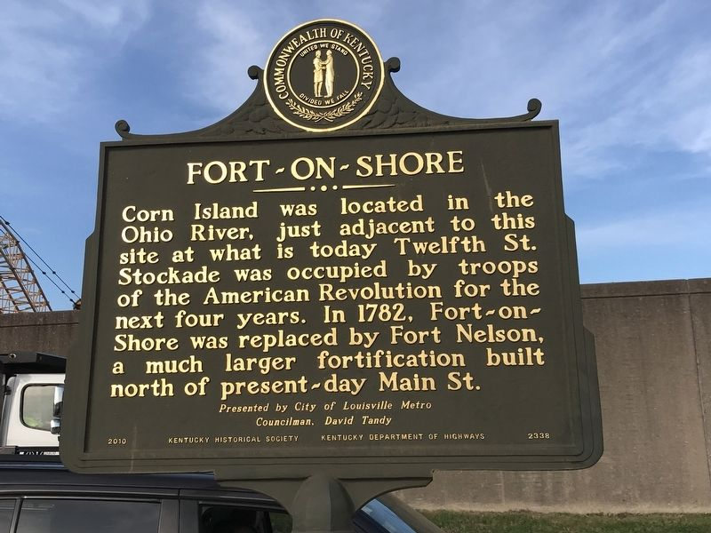 Fort-on-Shore Marker (Side B) image. Click for full size.