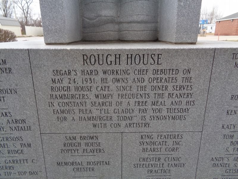 Rough House Marker image. Click for full size.
