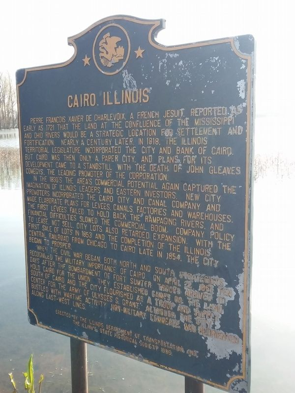 Cairo, Illinois Marker image. Click for full size.