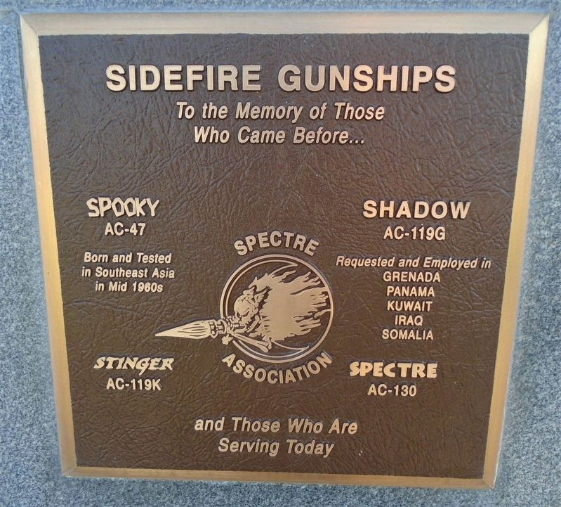 Sidefire Gunships Marker image. Click for full size.
