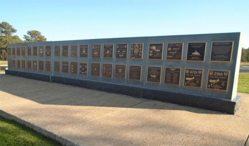 Sidefire Gunships Marker on Memorial Wall image. Click for full size.