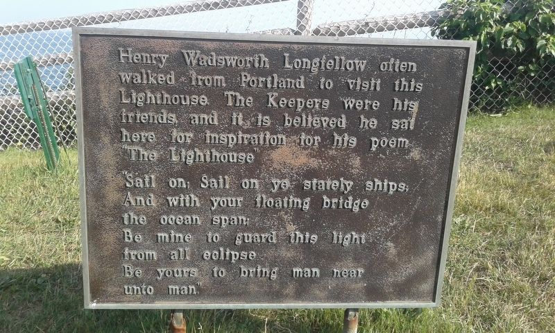 Henry Wadsworth Longfellow Marker image. Click for full size.