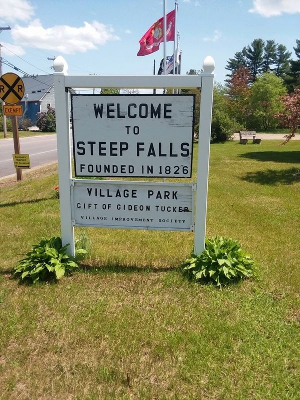 Steep Falls Village Park image. Click for full size.