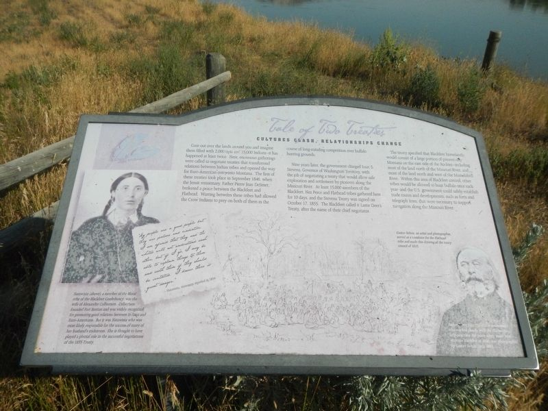 Tale of Two Treaties Marker image. Click for full size.