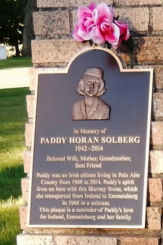 Paddy Horan Solberg Marker image. Click for full size.