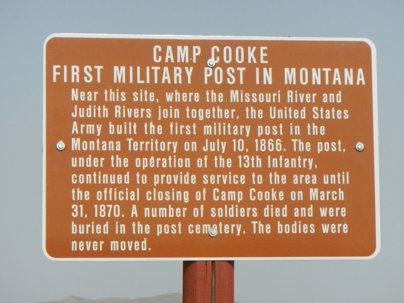Camp Cooke Marker image. Click for full size.