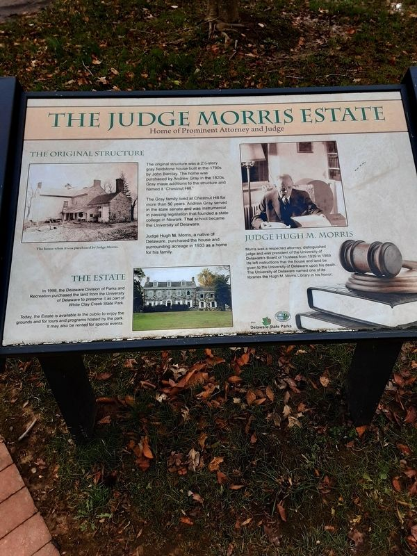 The Judge Morris Estate Marker image. Click for full size.