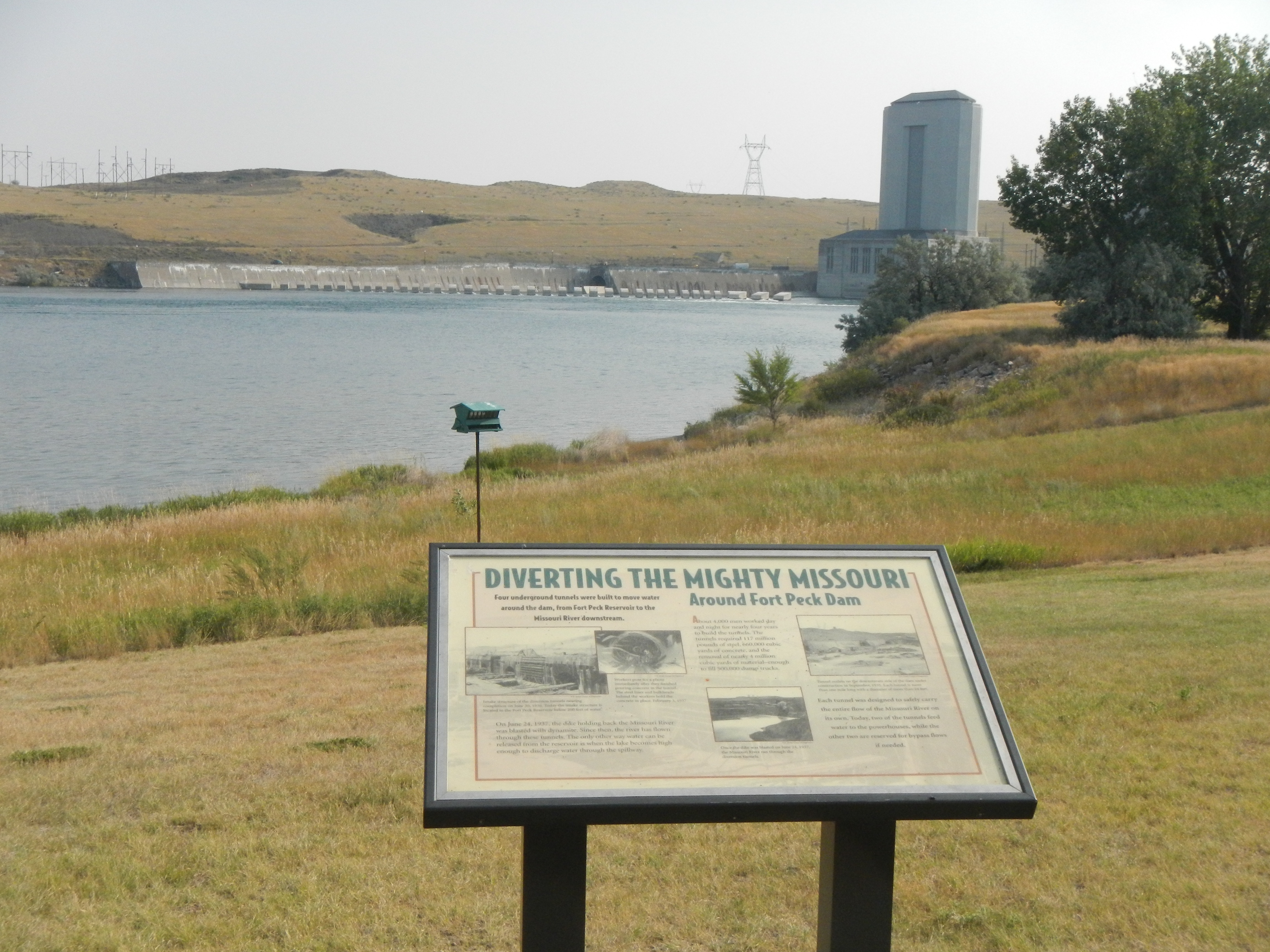 Diverting the Mighty Missouri Marker