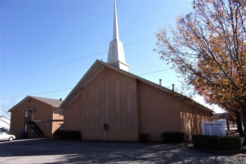 First Baptist Church of Hutchins image. Click for full size.