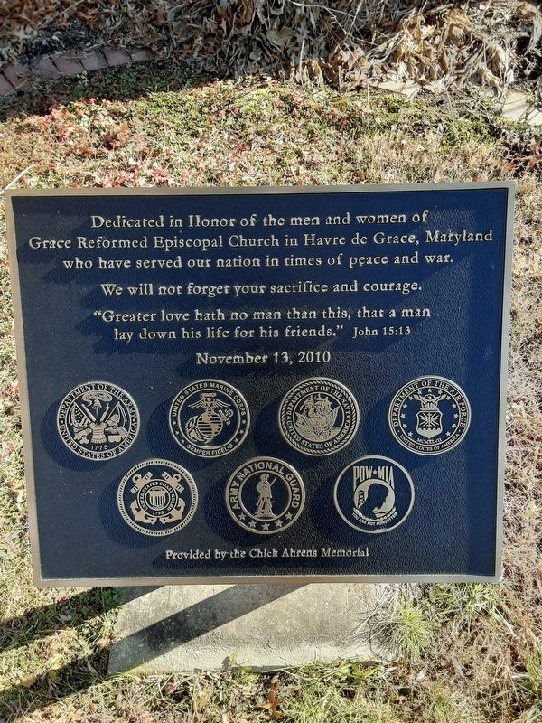 Dedicated in Honor Marker image. Click for full size.