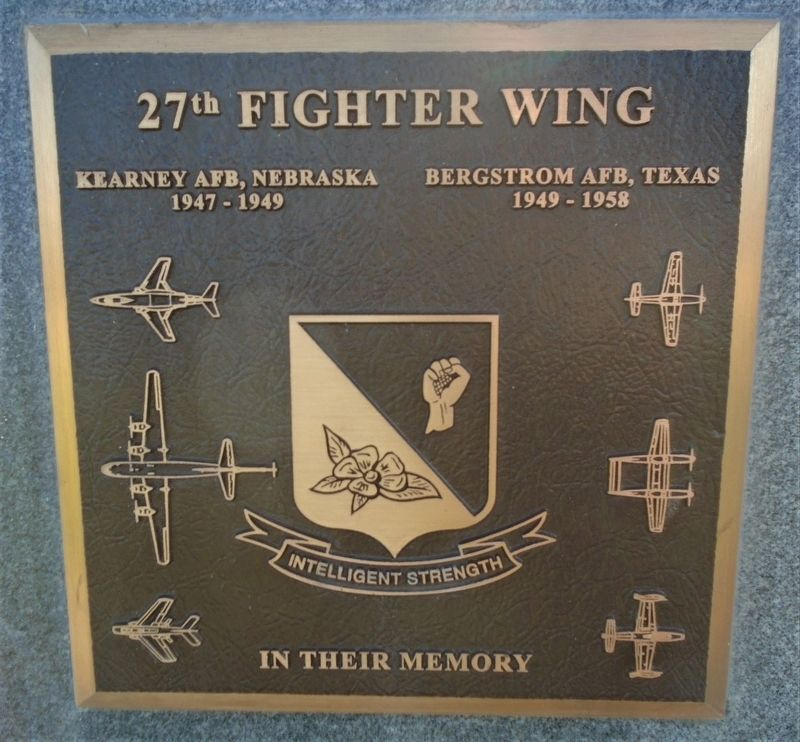 27<sup>th</sup> Fighter Wing Marker image. Click for full size.
