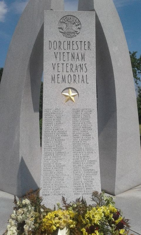 Dorchester Vietnam Veterans Memorial image. Click for full size.
