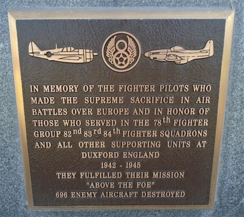 78<sup>th</sup> Fighter Group Marker image. Click for full size.
