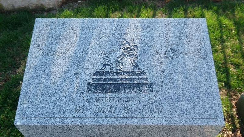 Navy Seabees Memorial image. Click for full size.