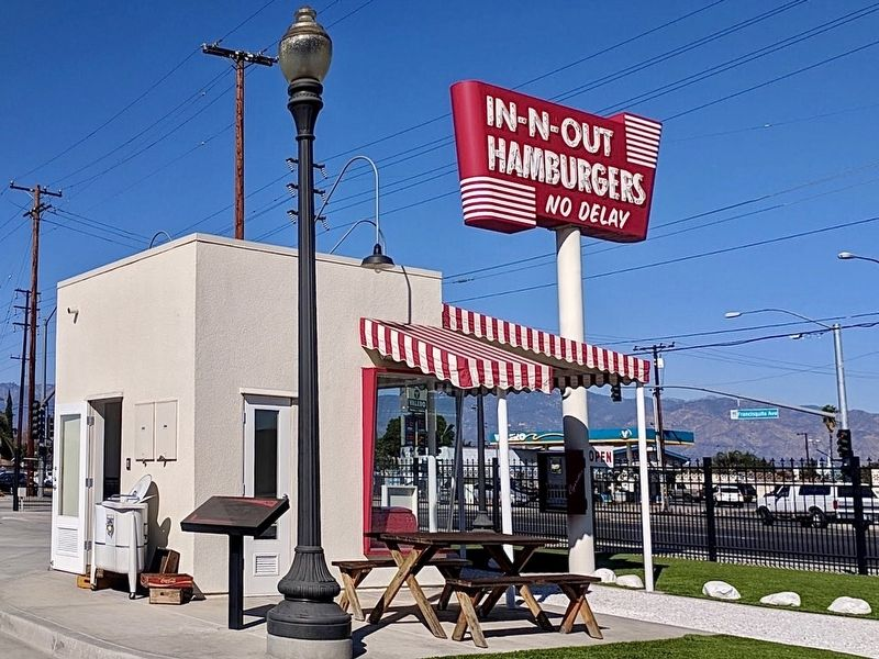In-N-Out Burger Replica and Marker image. Click for full size.